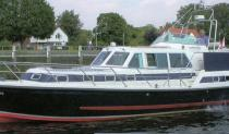 This popular Aft Cockpit Semi-displacement cruiser had a major re-fit including engines in 1995